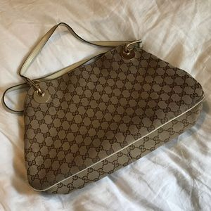 Rare Authentic Gucci Medium Eclipse Shoulder Bag